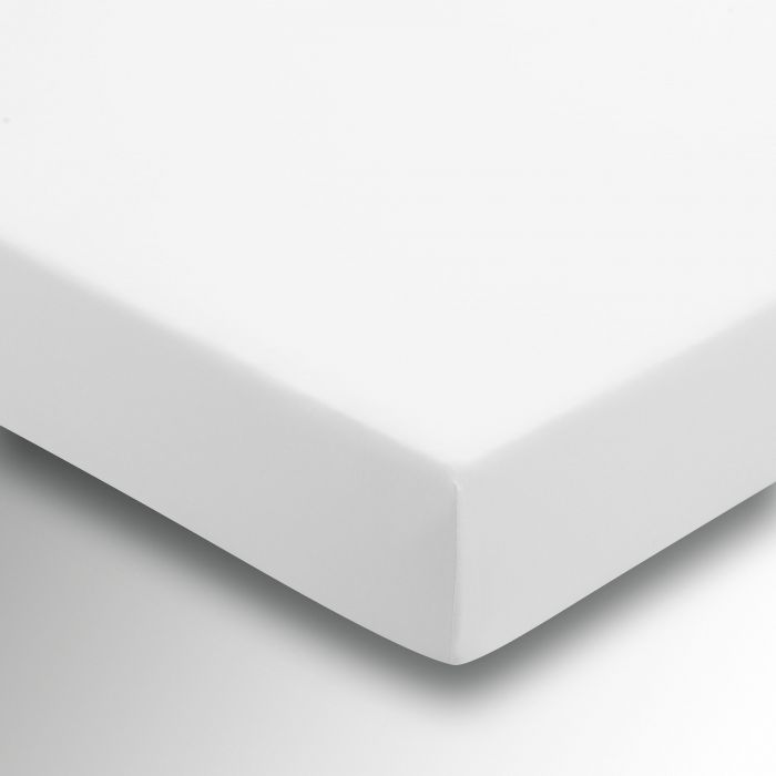 Kingsize White Fitted Sheets