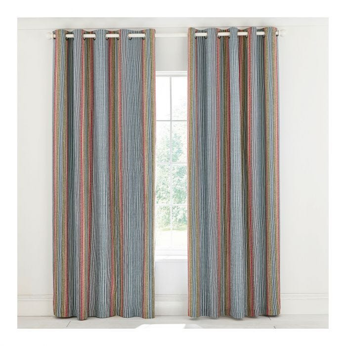 Macaw Explorer Lined Curtains
