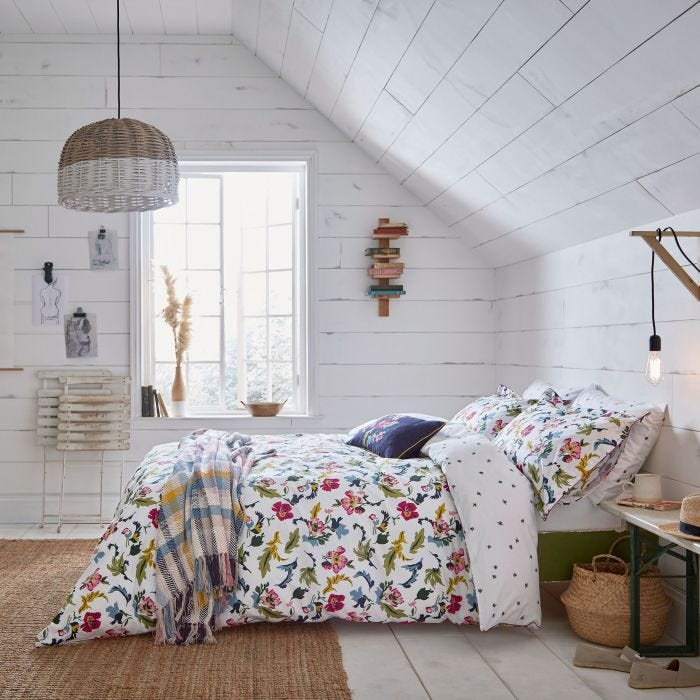 Cambridge Garden Chalk Bedding by Joules
