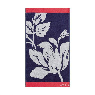 Dawn Shadow Floral Towel In Comet
