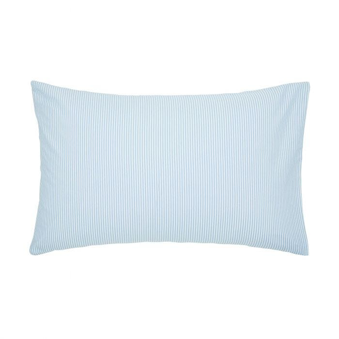 Melrose Floral Pair of Housewife Pillowcases Blue