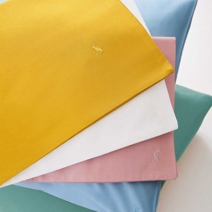 Cotton Percale Plain Dye Fitted Sheets