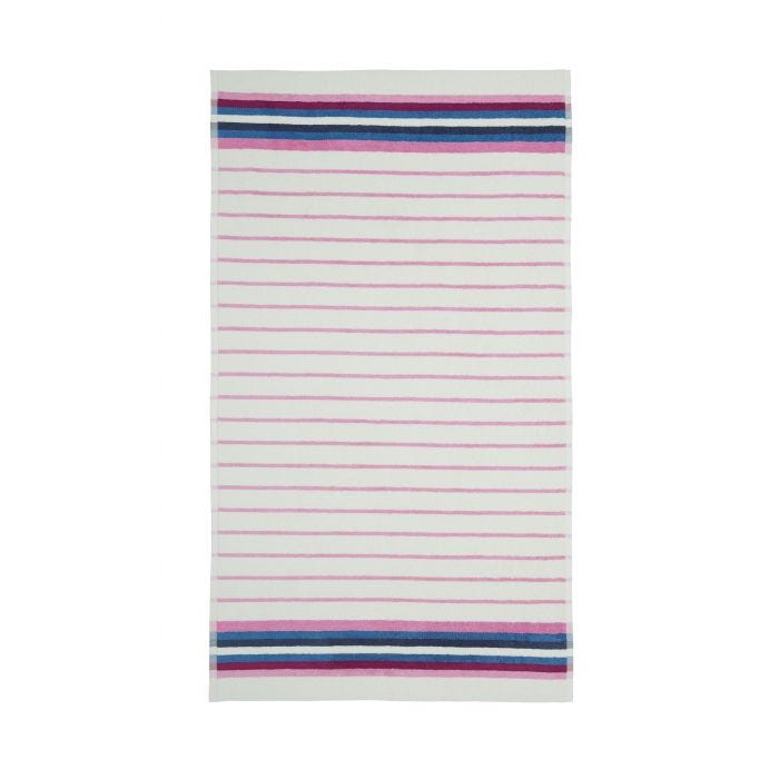 Potting Shed Stripe Creme Towel