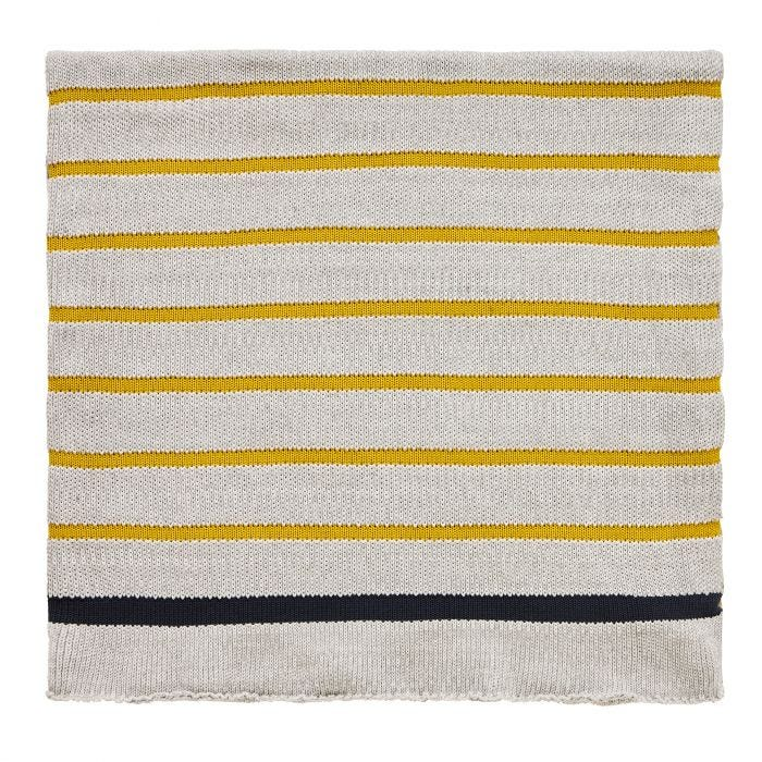 Lintu Knitted Throw, Pebble
