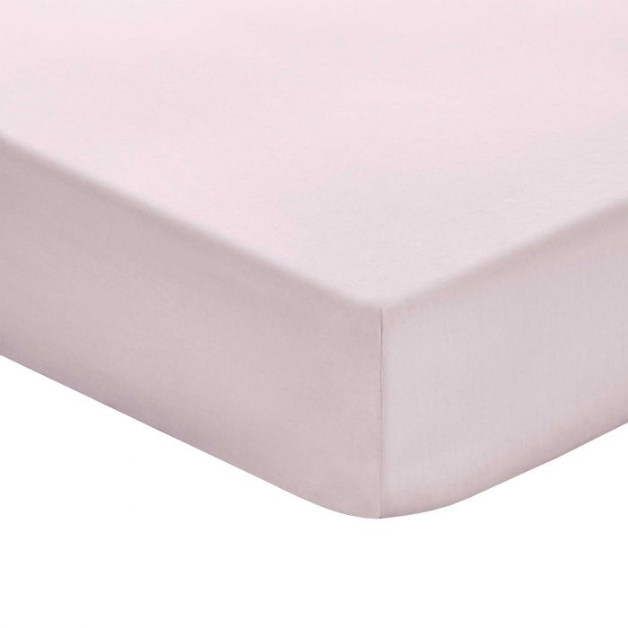 Plain Mauve Double Fitted Sheets