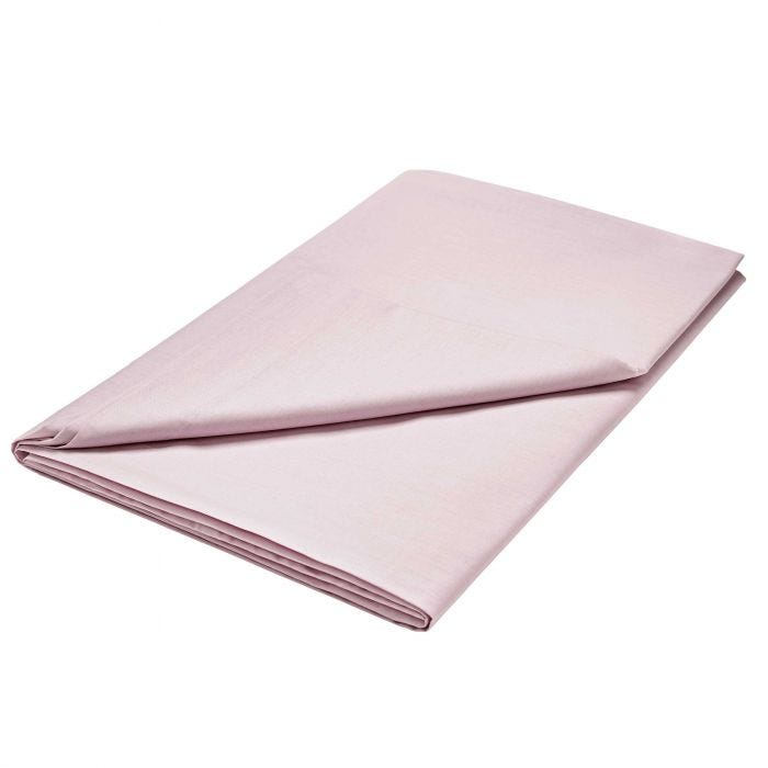 Luxury Mauve Flat Sheet (Double)