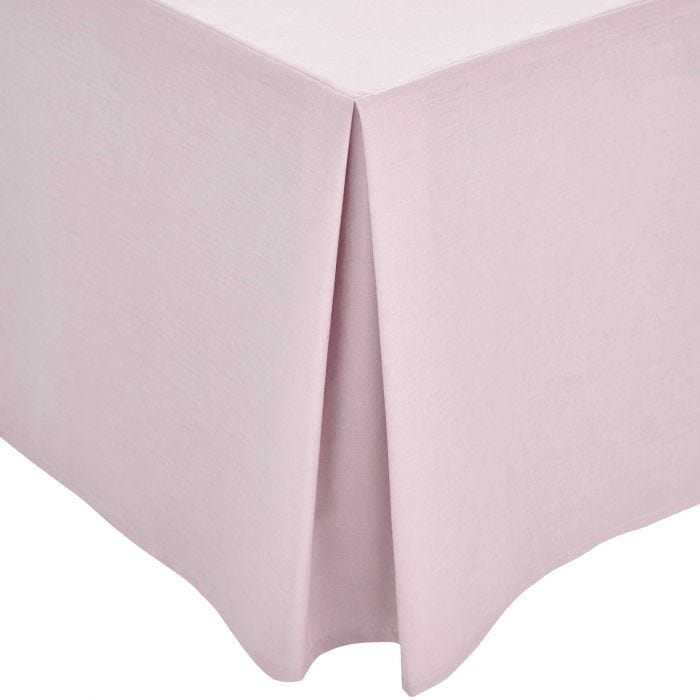 Mauve Plain Dye Base Valance (Kingsize)