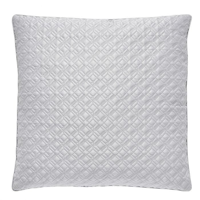 Peacock Blue Merton Pillow Sham Platinum