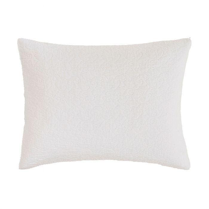 Ebba White Cushion Front