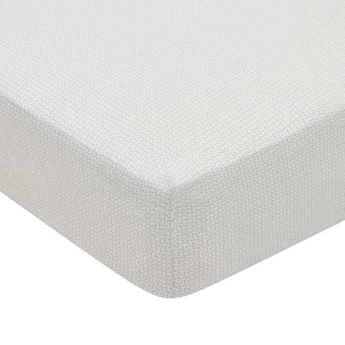 Edie Fitted Sheet Lough Green