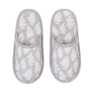 Fern Cloud Grey Slippers