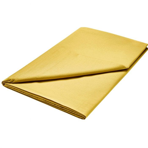 Luxury Ochre Flat Sheet (Super Kingsize)