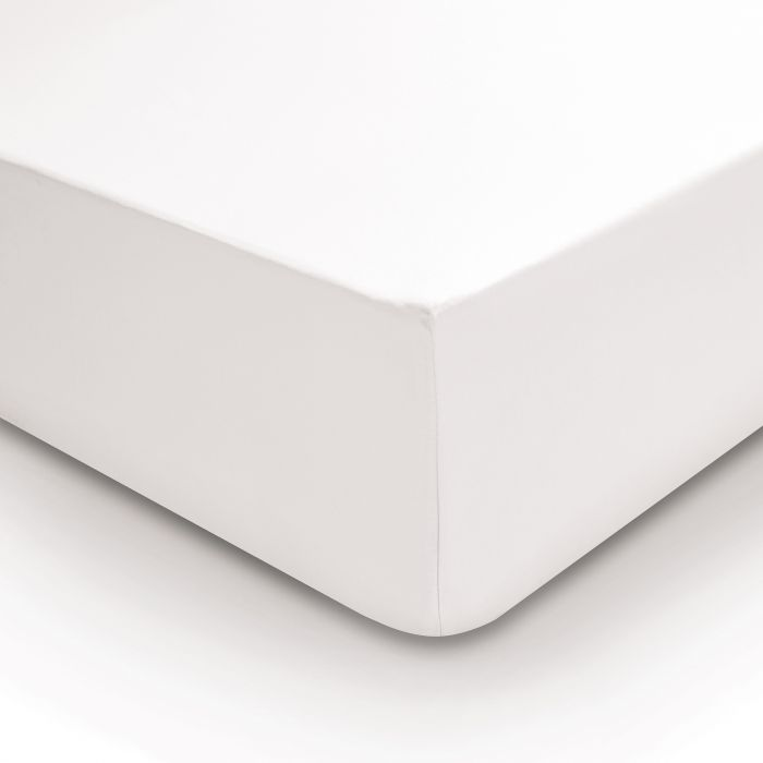 Bedeck 400 Thread Count, Single Fitted Sheet, Oyster