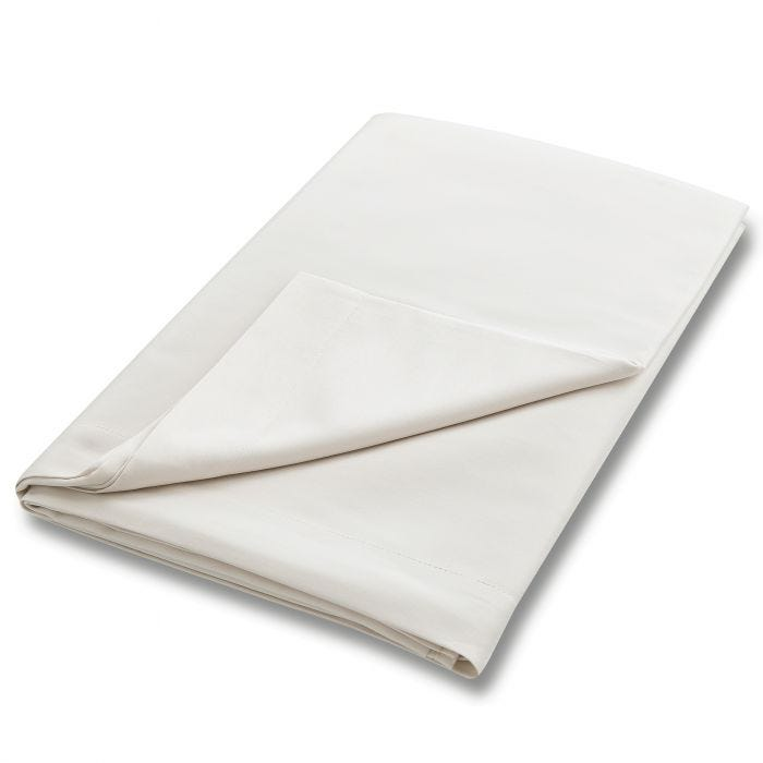 Bedeck 400 Thread Count, Double Flat Sheet, Oyster
