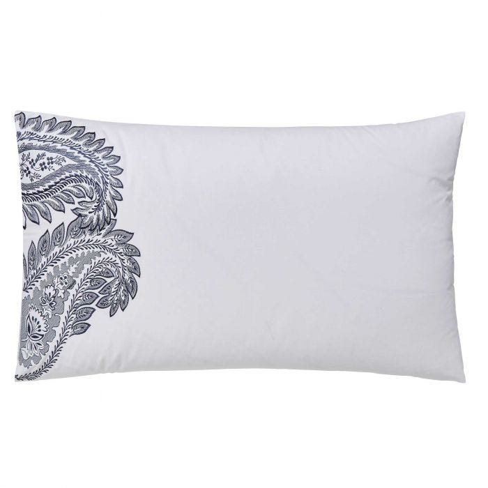 Paisley Housewife Pillowcase, Ink