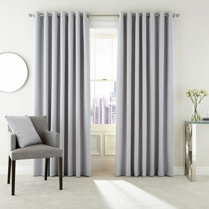 Barcelo Silver Lined Curtains