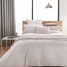 Samsara Dusky Soft Pink Bedding