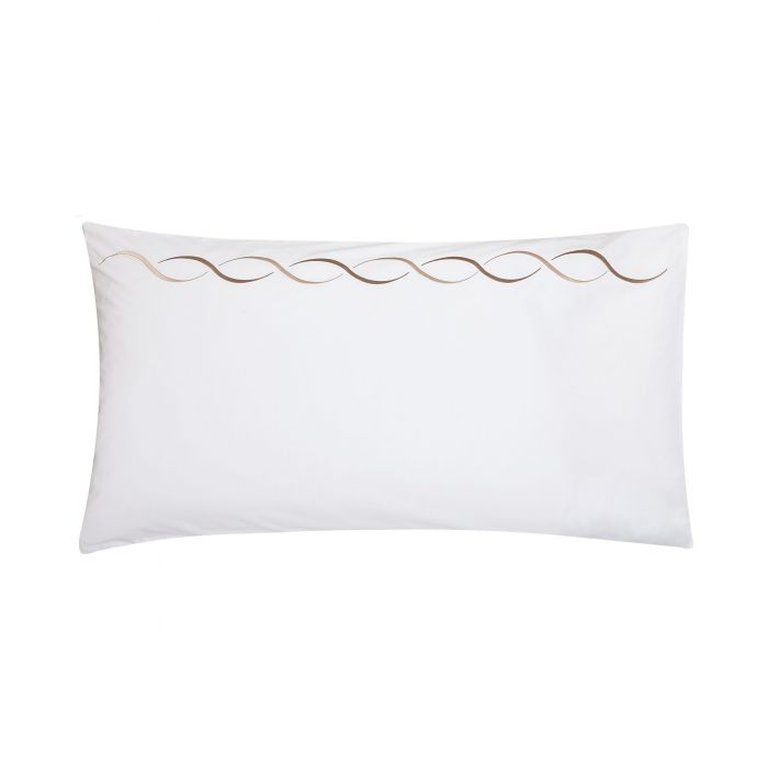Vienne Truffle Large Housewife Pillowcase.