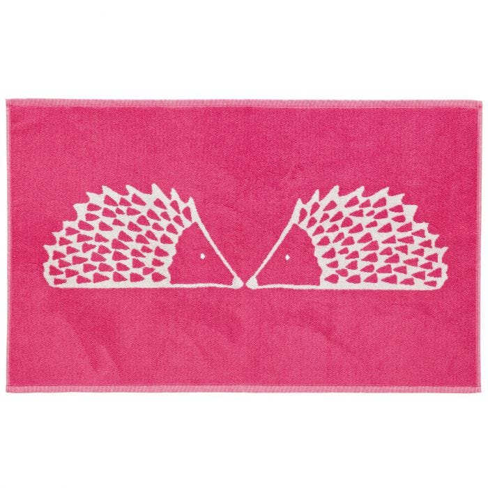 Pink Spike Bath Mat