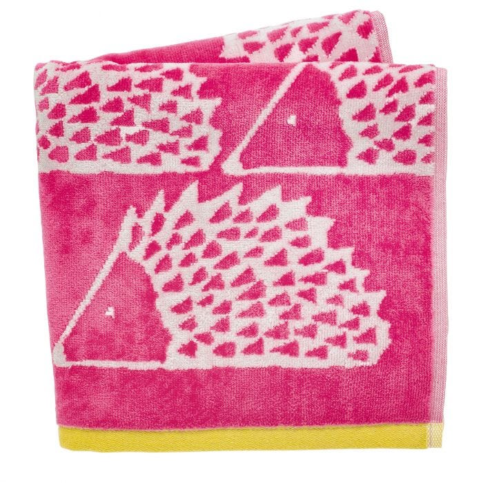Spike Bath Sheets in Pink