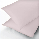 Sanderson Pink Flat Double Sheet