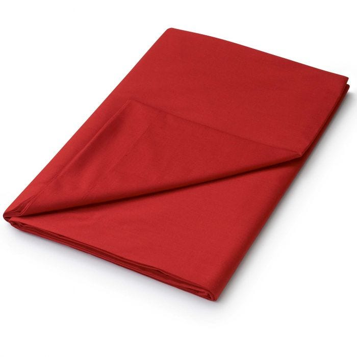 Double Red Flat Sheets