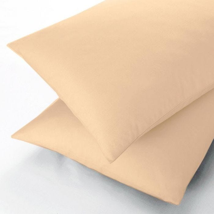600 Thread Count Gold Flat Sheets, Double