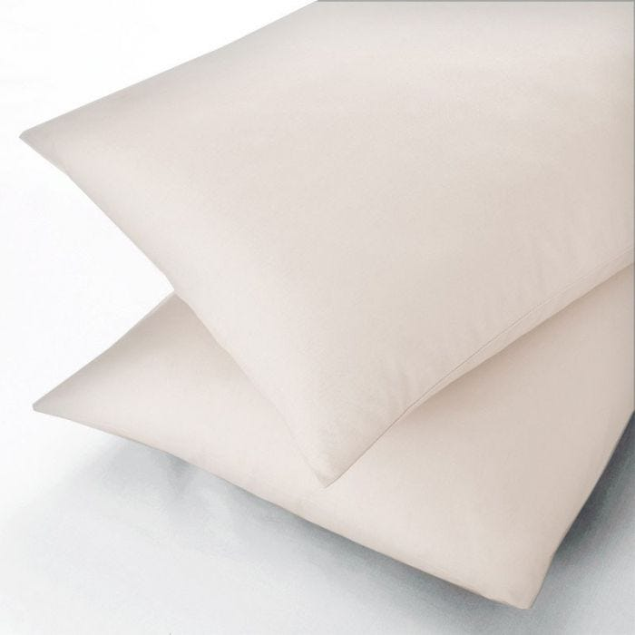 Sanderson Square Pillowcases, Ivory