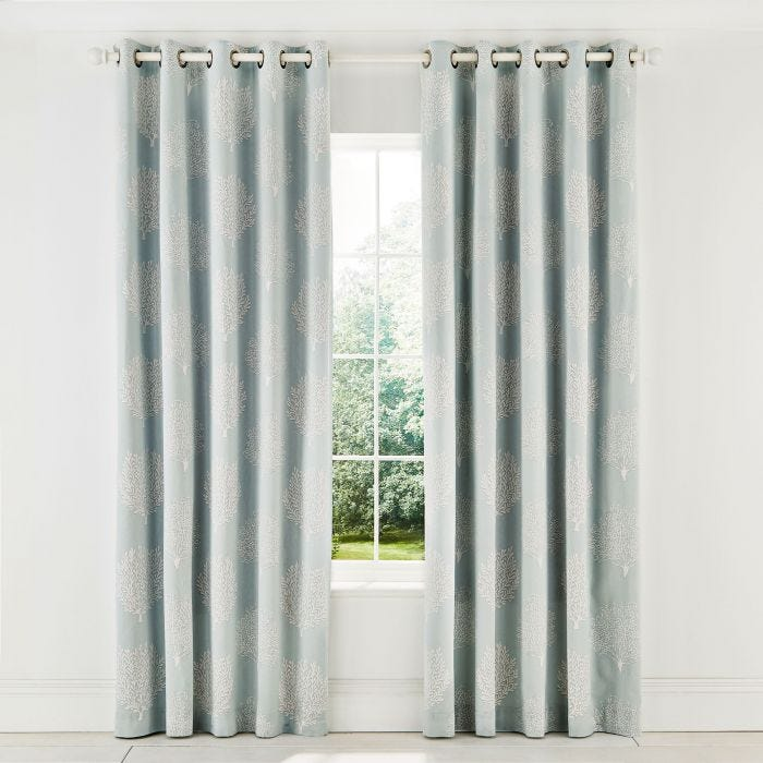 Coraline Marine Lined Curtains