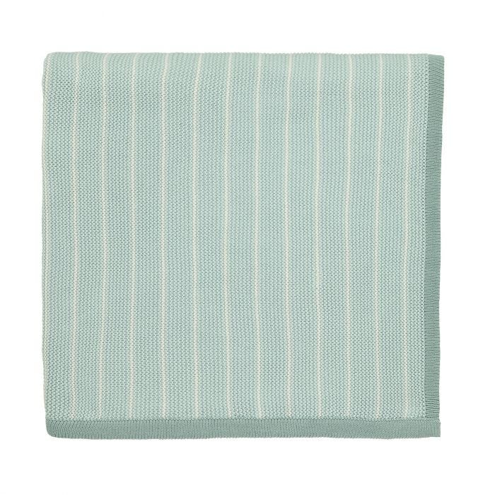 Willow Tree Aqua Knitted Throw