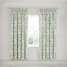 Willow Tree Aqua Curtains