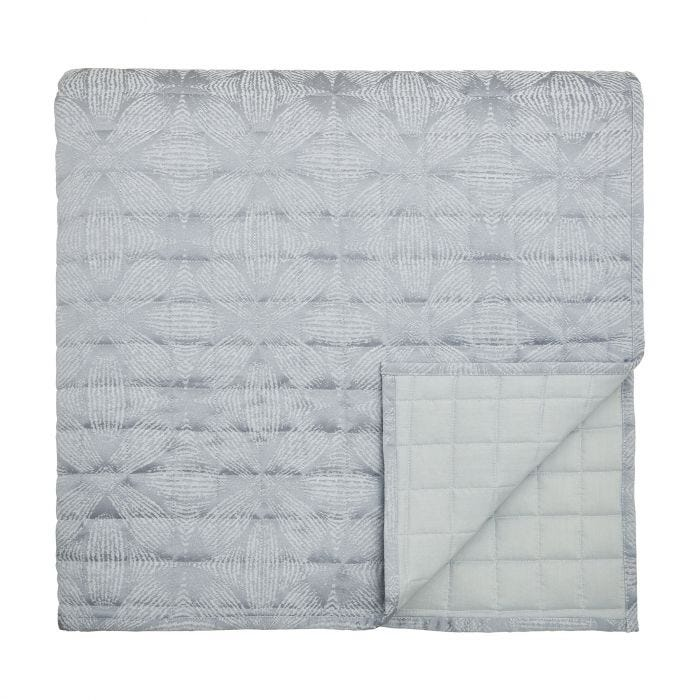 Sycamore Blue Mist Quilted Throw.
