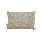 Siam Diamond Cushion Sumac & Grey