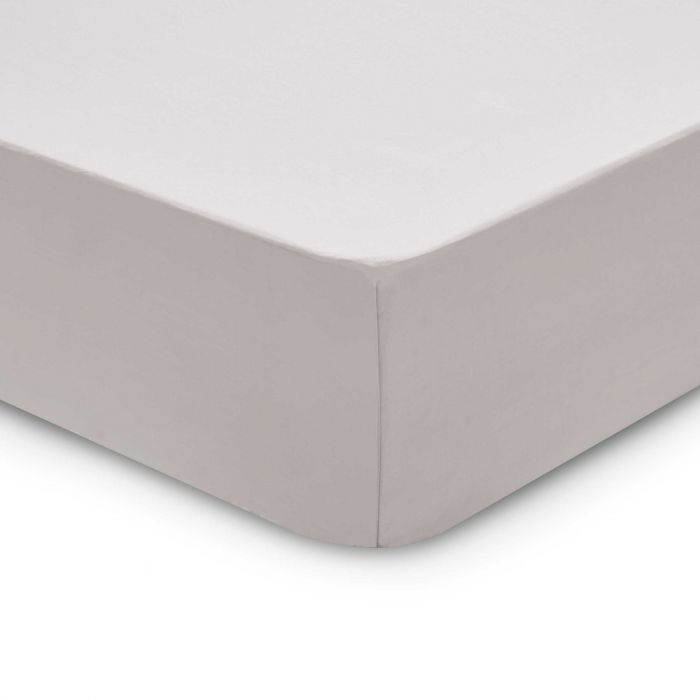 Bedeck 1951 200 Thread Count, Double Fitted Sheet,  Silver