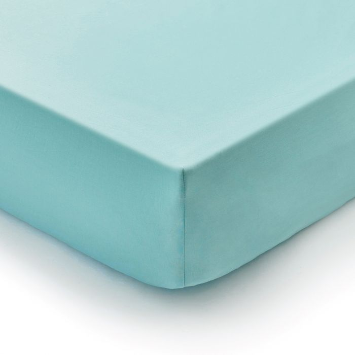 Bedeck 1951 Super Kingsize Fitted Sheet In Vintage Teal