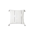 Echo Stripe Square Woven Cushion