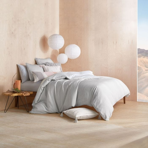 Yin & Yang White & Grey Bedding