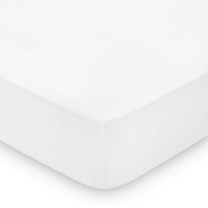 600TC Egyptian Cotton Fitted Sheet, Single