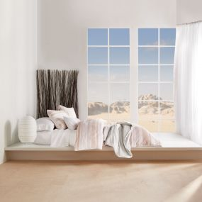 Horizon Blush Bedding