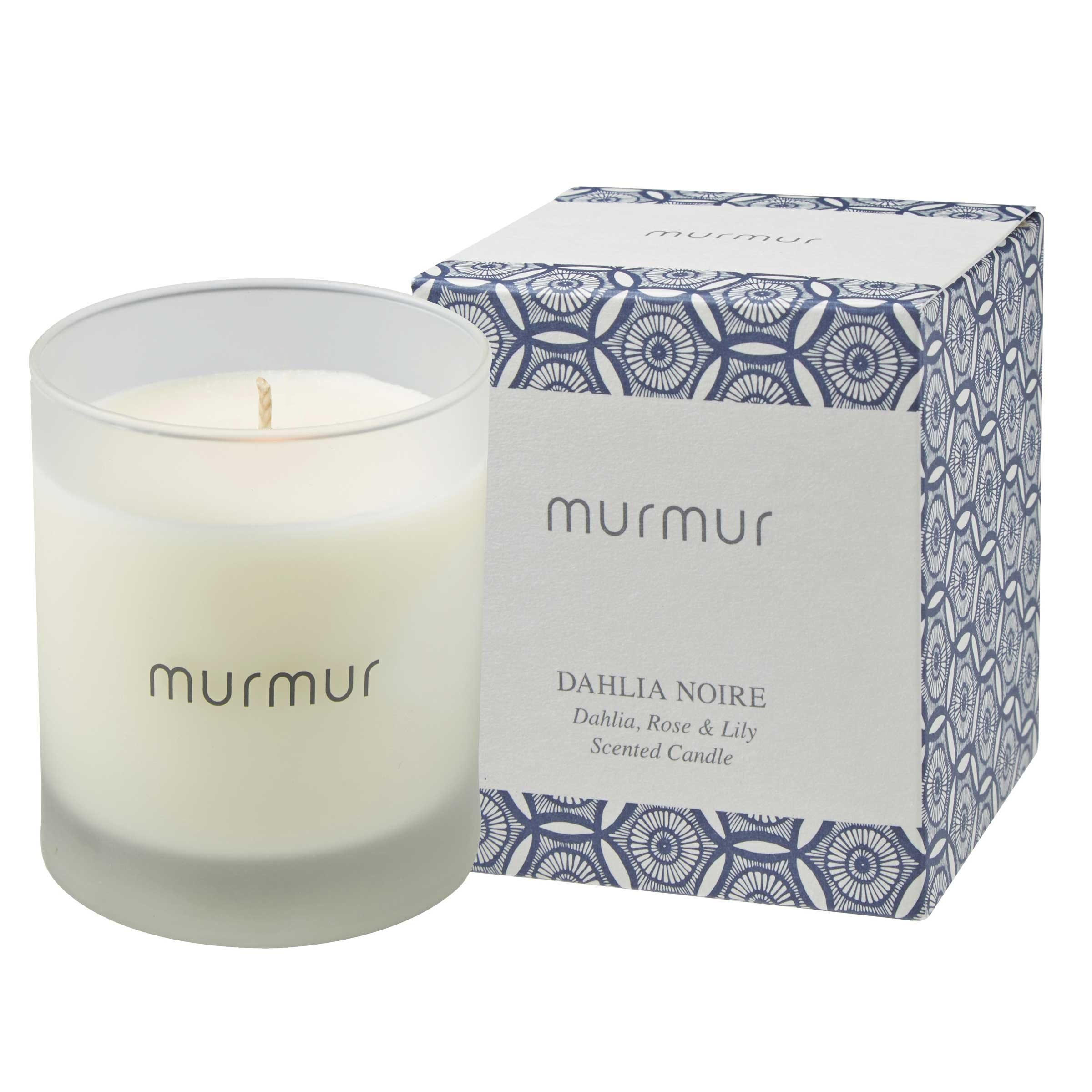 Murmur Dahlia Noire Scented Candle (1 wick)