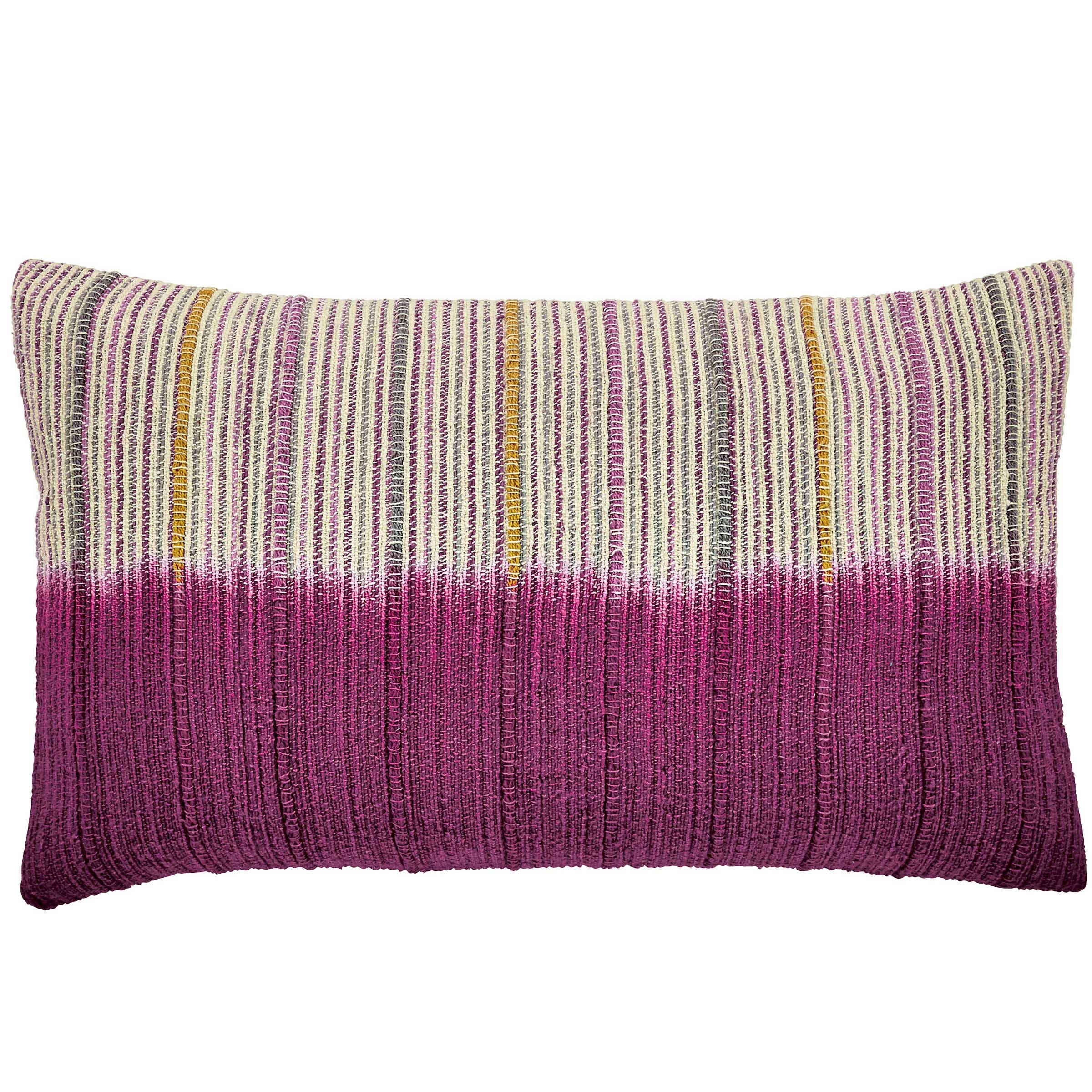 Bedeck 1951 Damara Cushion 50x30cm, Magenta
