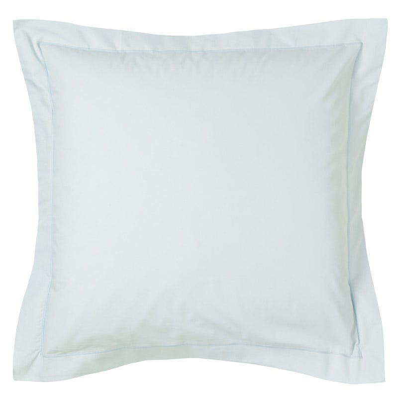 Fable Plain Dye Housewife Pillowcase Duck Egg