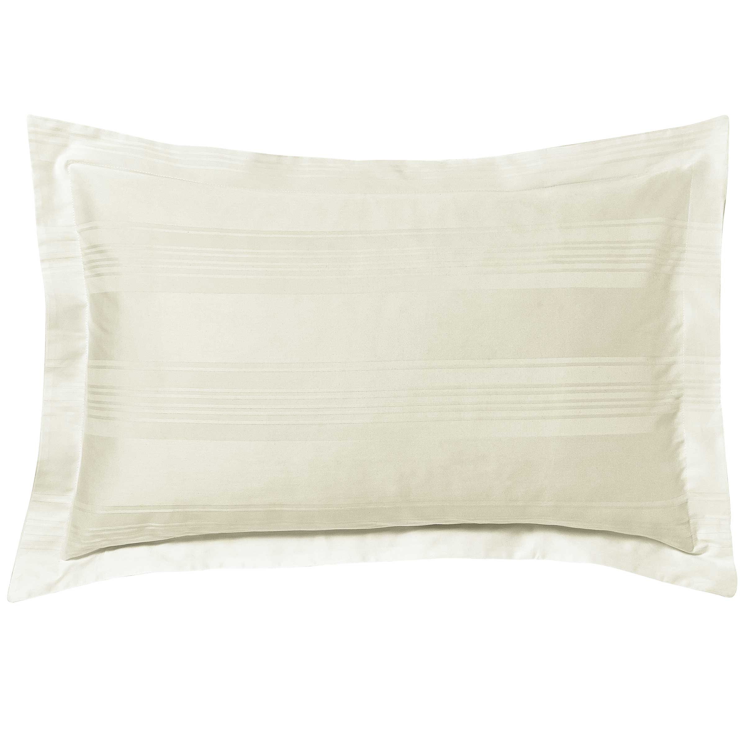 Hotel Bedding Empire Oxford Pillowcase Ivory