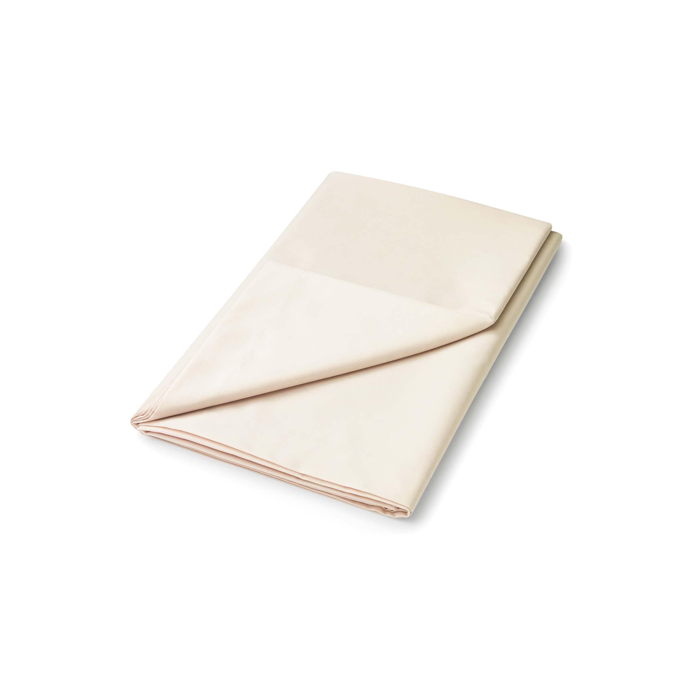 50/50 Plain Dye Percale Kingsize Flat Sheet, Linen