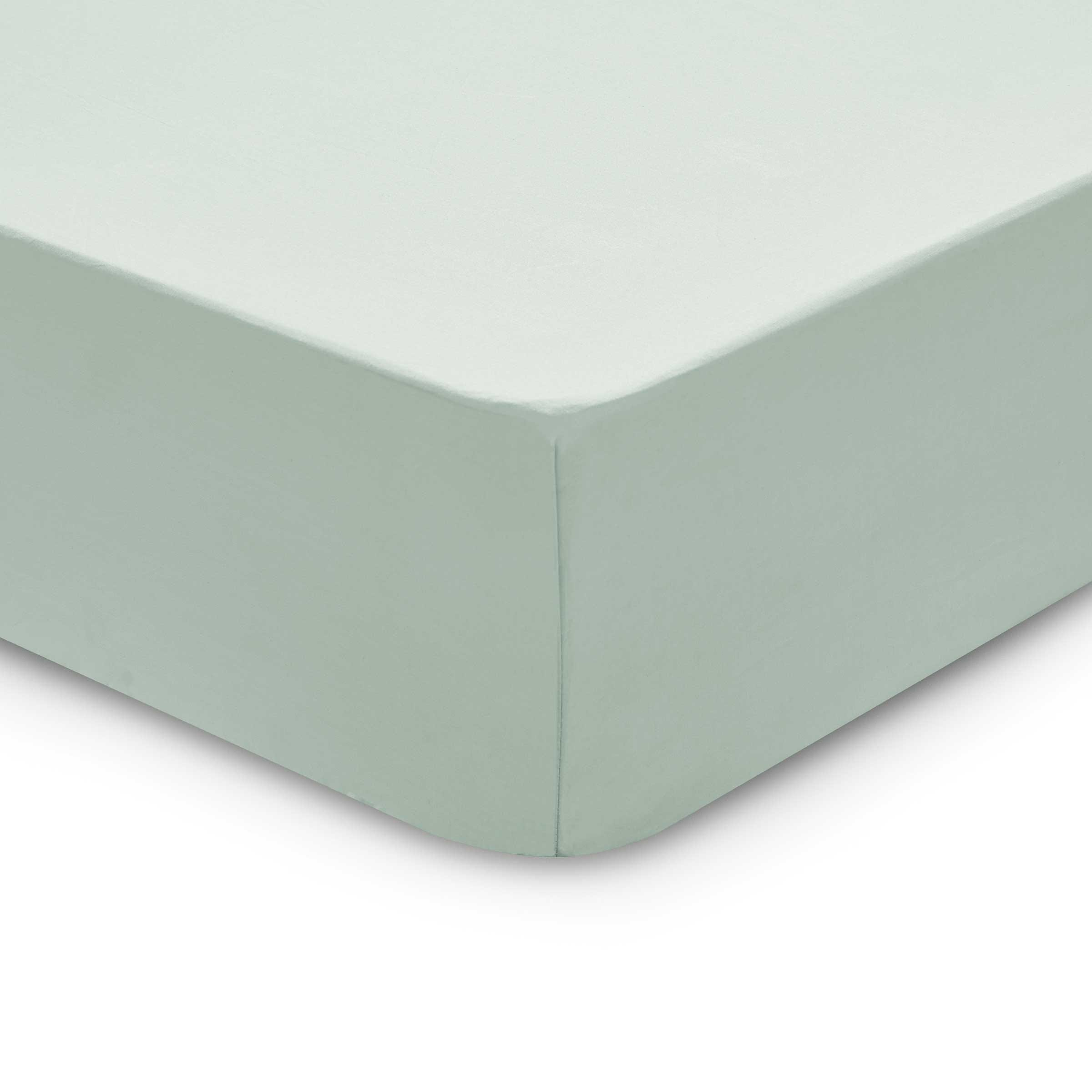 Bedeck 1951 200 Thread Count, Kingsize Fitted Sheet, Jade