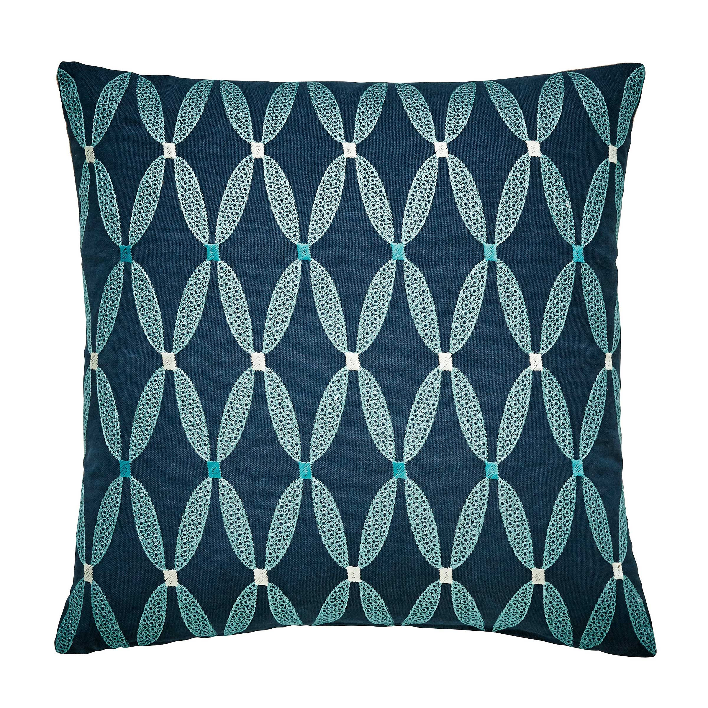 Bedeck 1951 Bedding - Loya Cushion - Navy