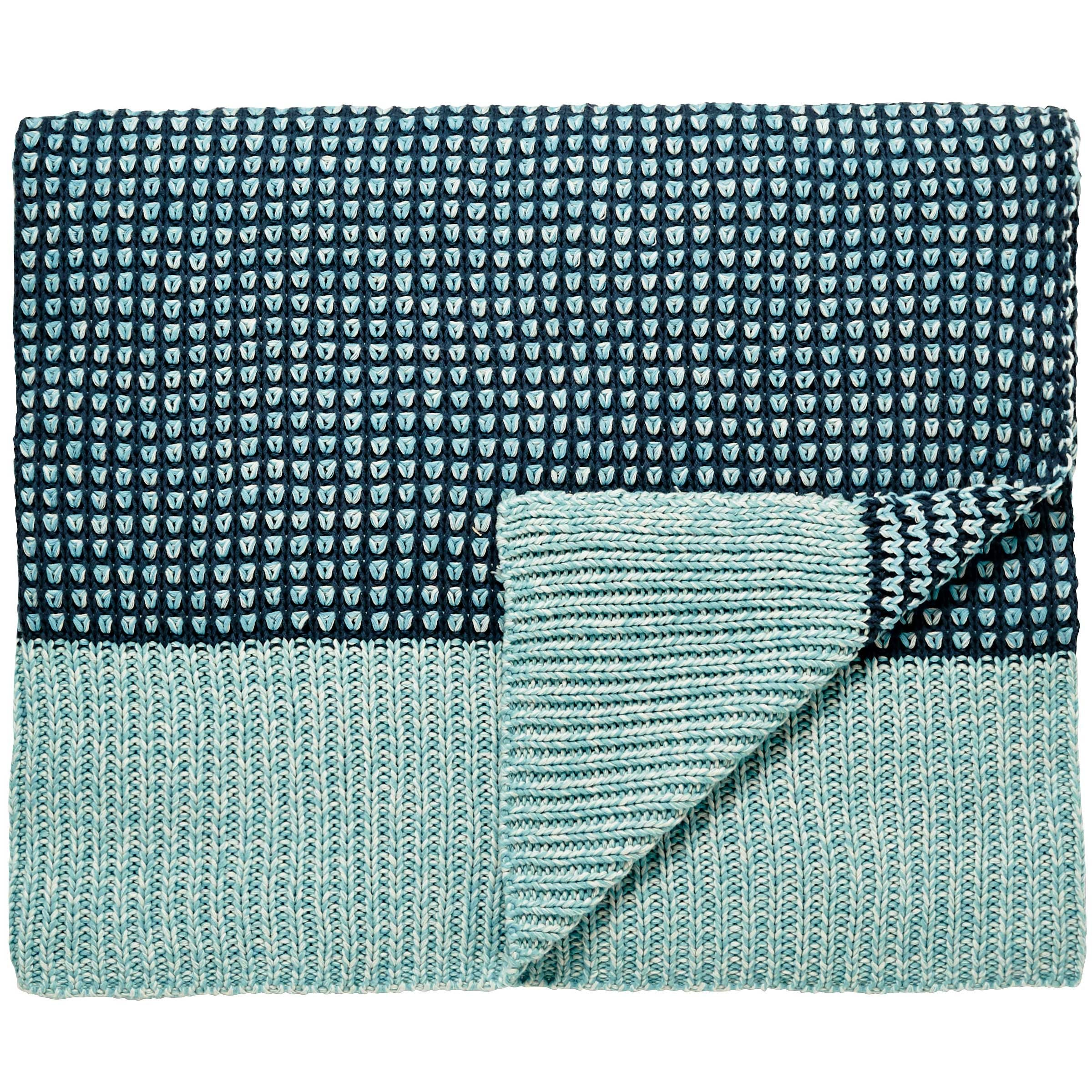 Bedeck 1951 Loya Throw in Aqua