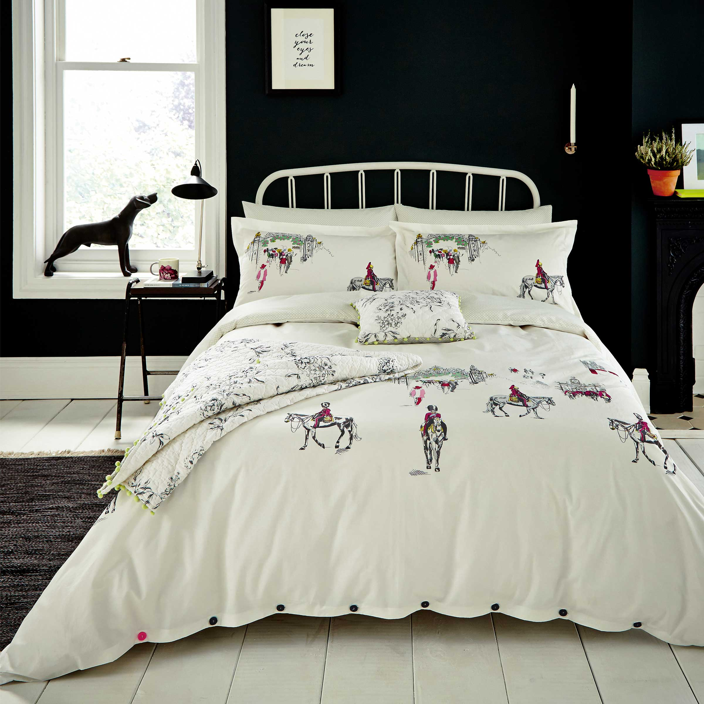 Joules Bedding Horse Guard Single Duvet Cover