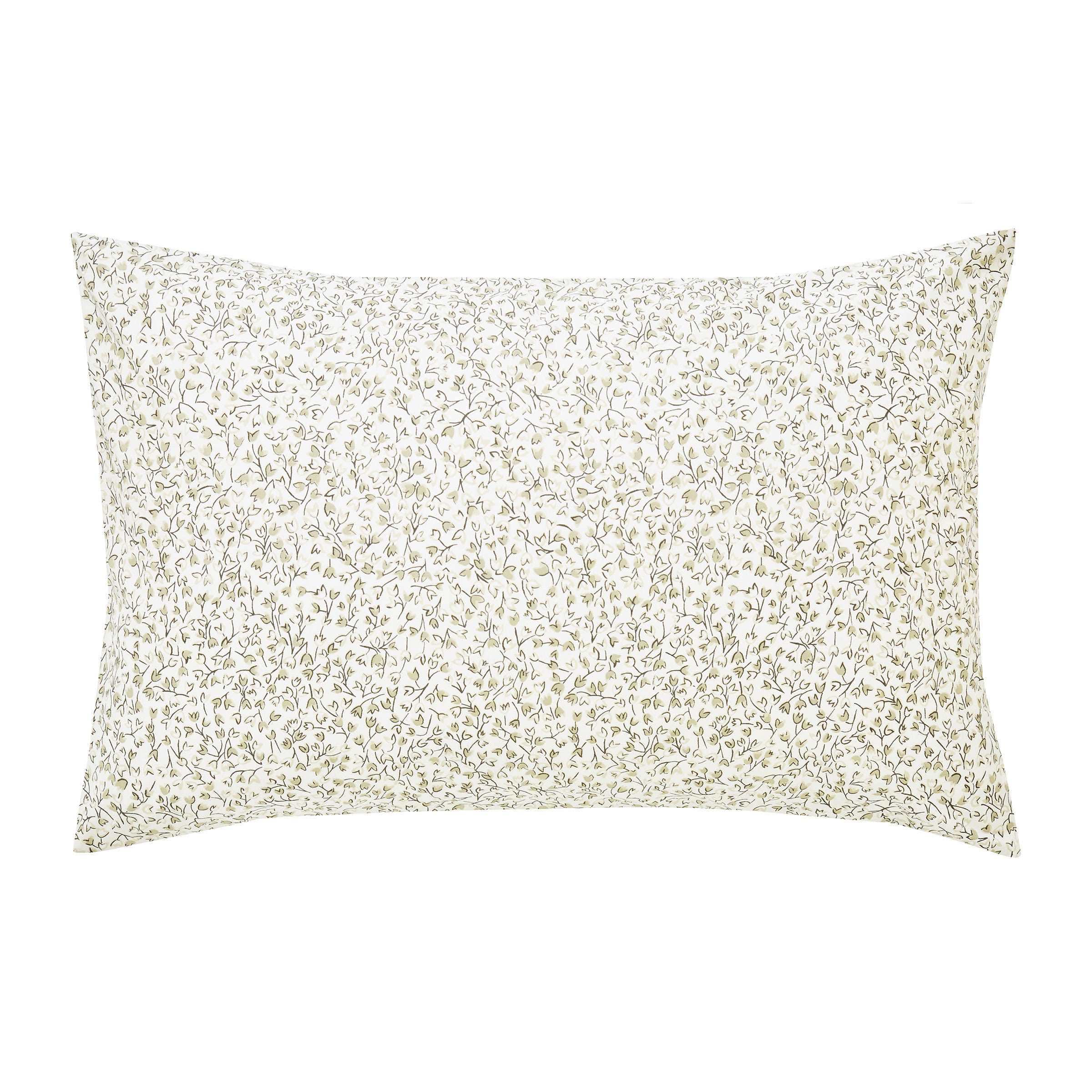 Sanderson Bedding Muguet Housewife Pillowcase EmeraldIvory