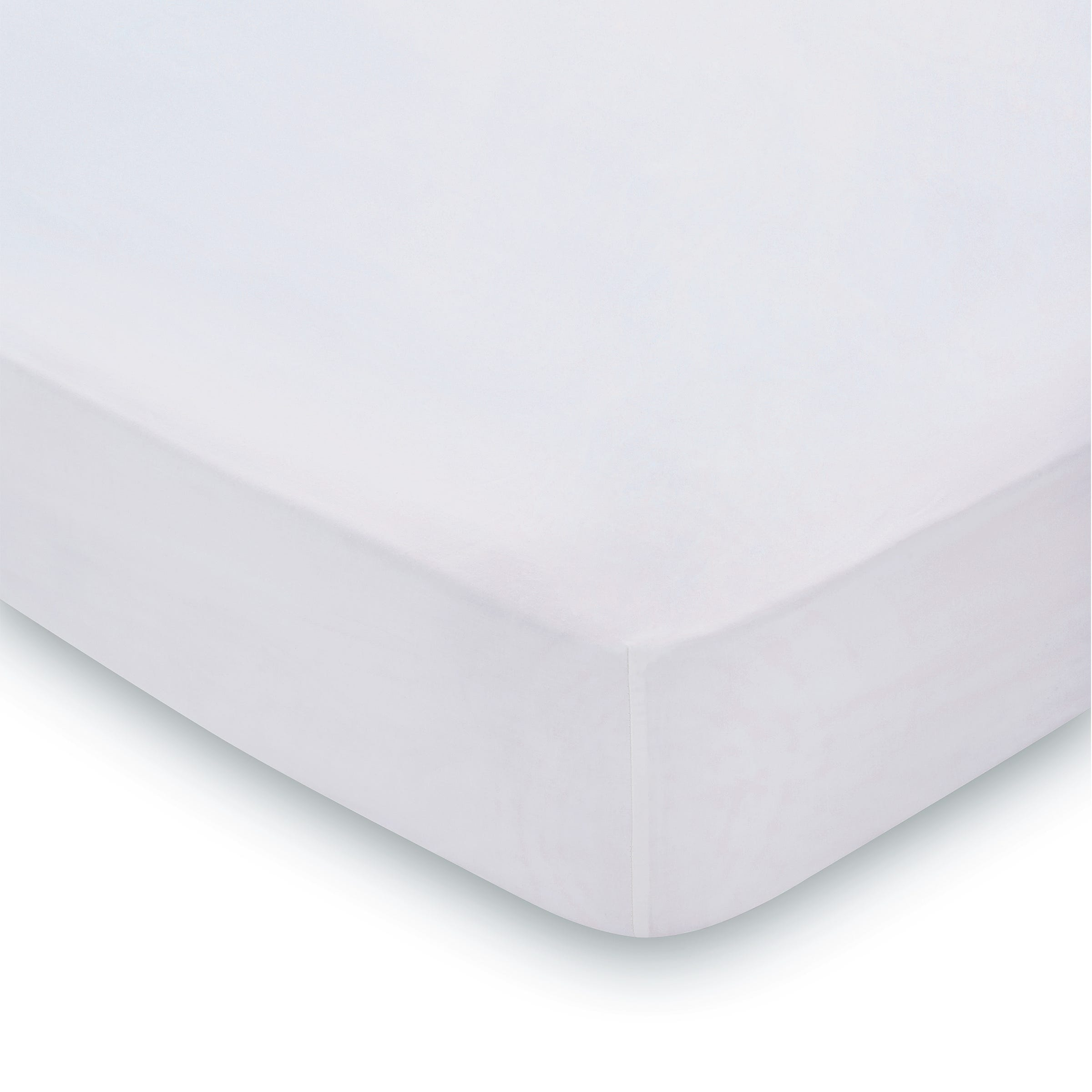 300 Thread Count Super Kingsize Fitted Sheet, Platinum
